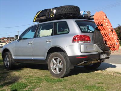 loaded for camping