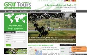 Vietnamgolftours's Webside.