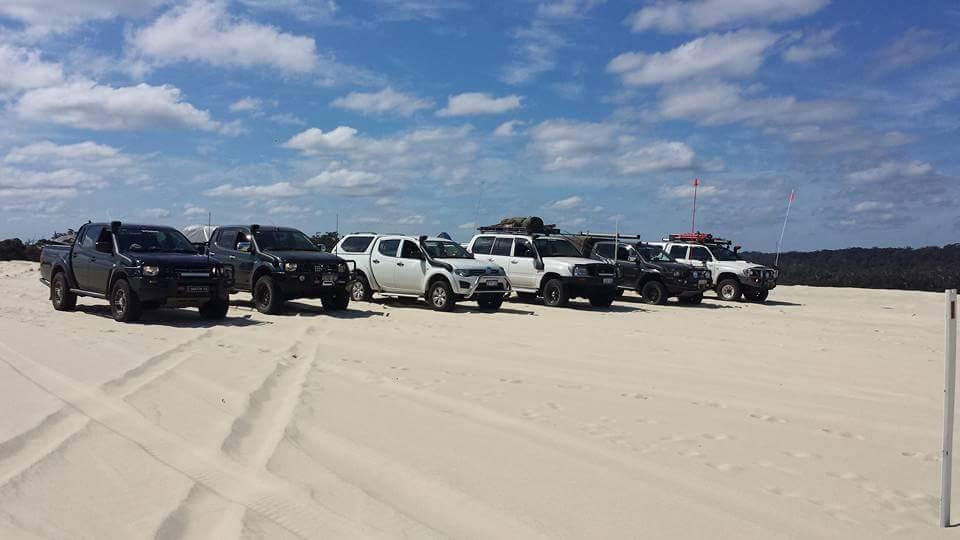 4 wheeling on the dunes.