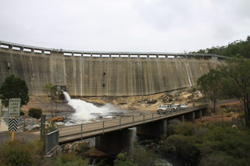 Wellington Dam in Wellington National Park, WA