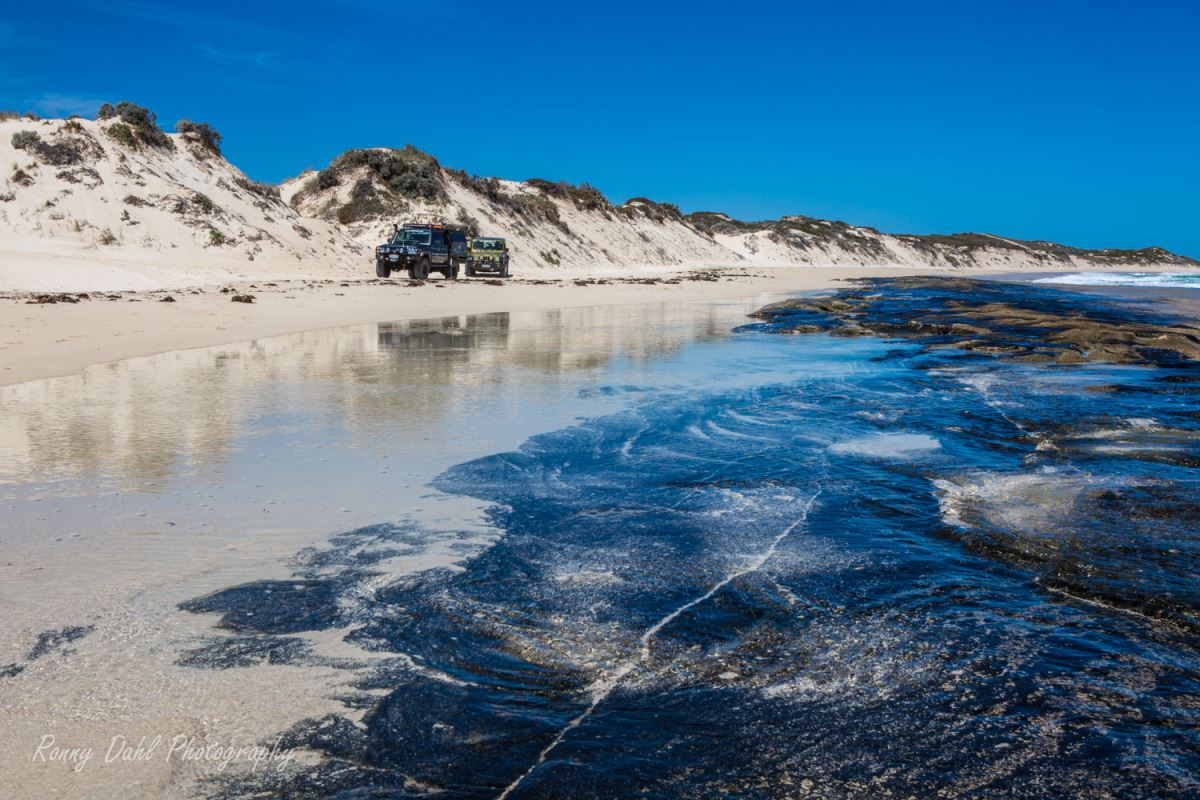 Wilbinga beach, Western Australia.