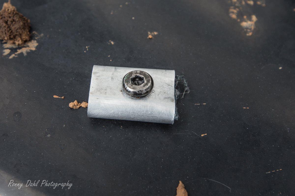 Winch locator screw.