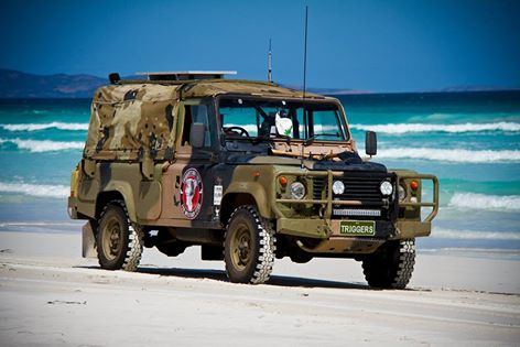 The Defender 110 Is on a mission to spread awareness for PTSD. around Australia. See how you can follow Triggers Big Trek and...