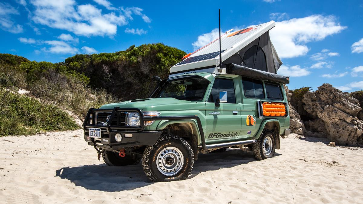 4XOverland Landcruiser Troopy.