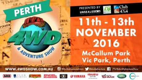 4WD show in Perth.