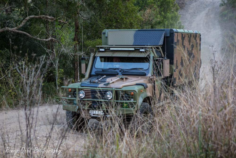 Land Rover Perentie. Ex-army 6x6 Land Rover.