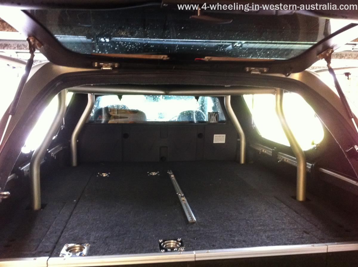 Draw System in rear of Ute