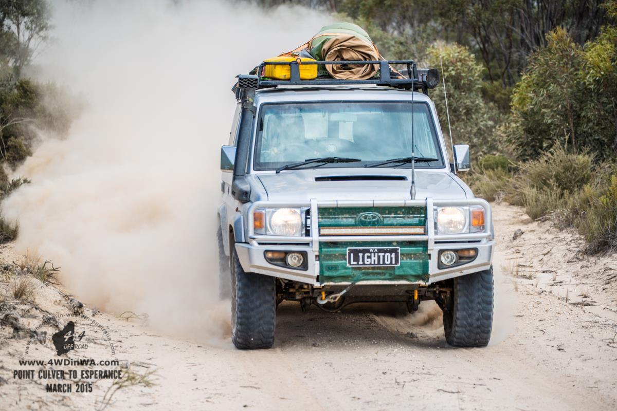 White Bull dust, Western Australia.