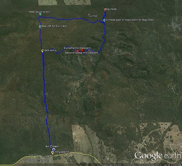 Google map, Julimar WA
