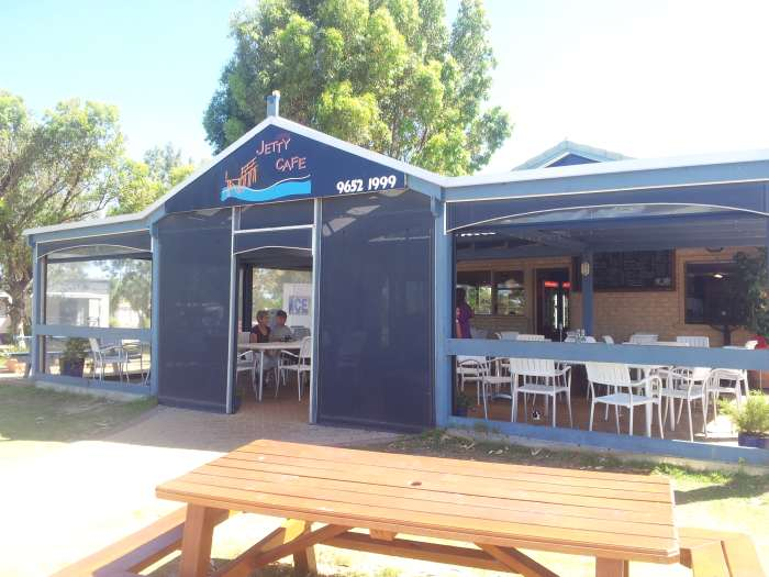 Jurien Bay Jetty Cafe.