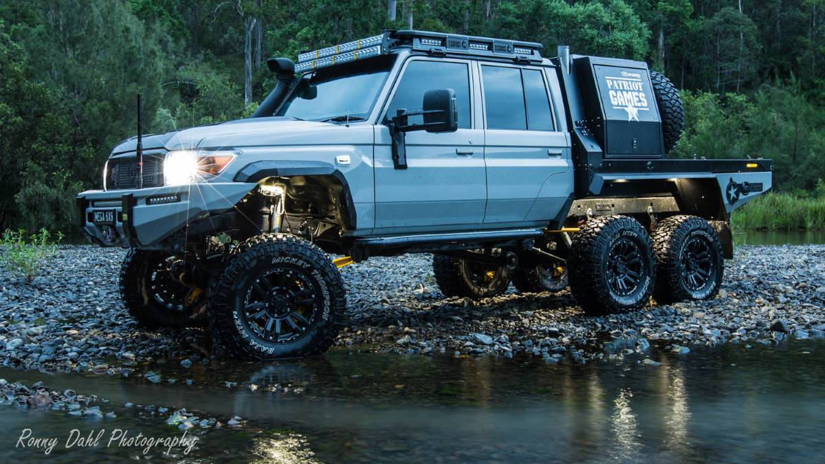 The Mega Tourer 6x6.