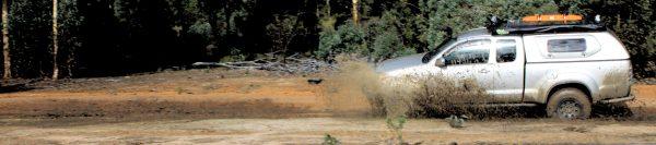 Muddy 4x4 Track Mundaring.