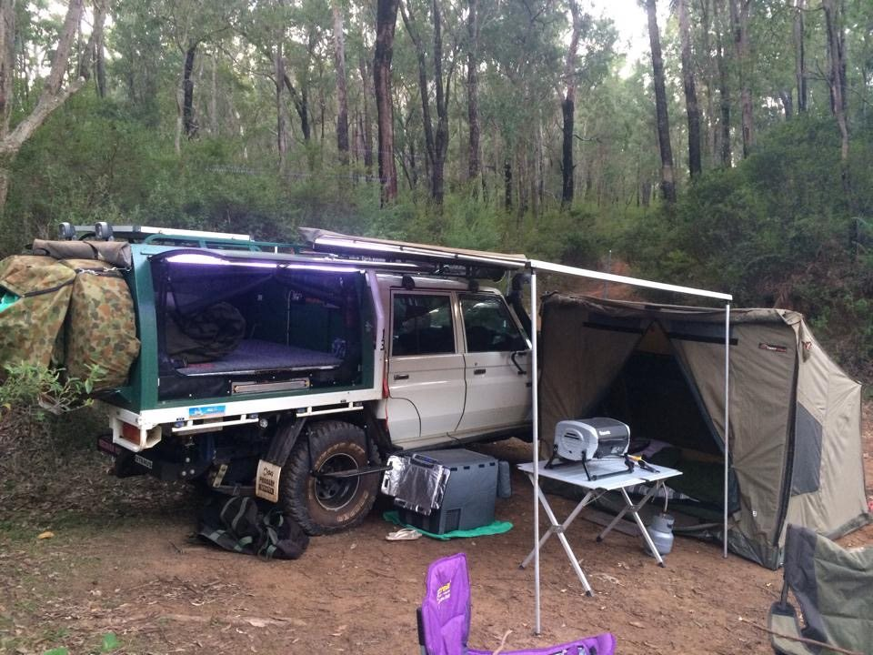 Toyota Landcruiser Dual Cab Workmate Modified
