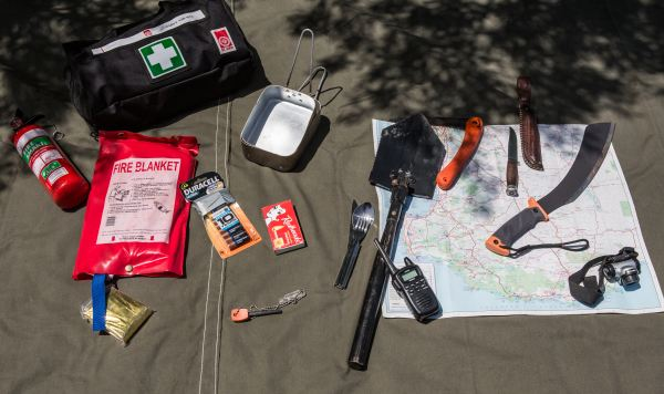 Bush Survival items.