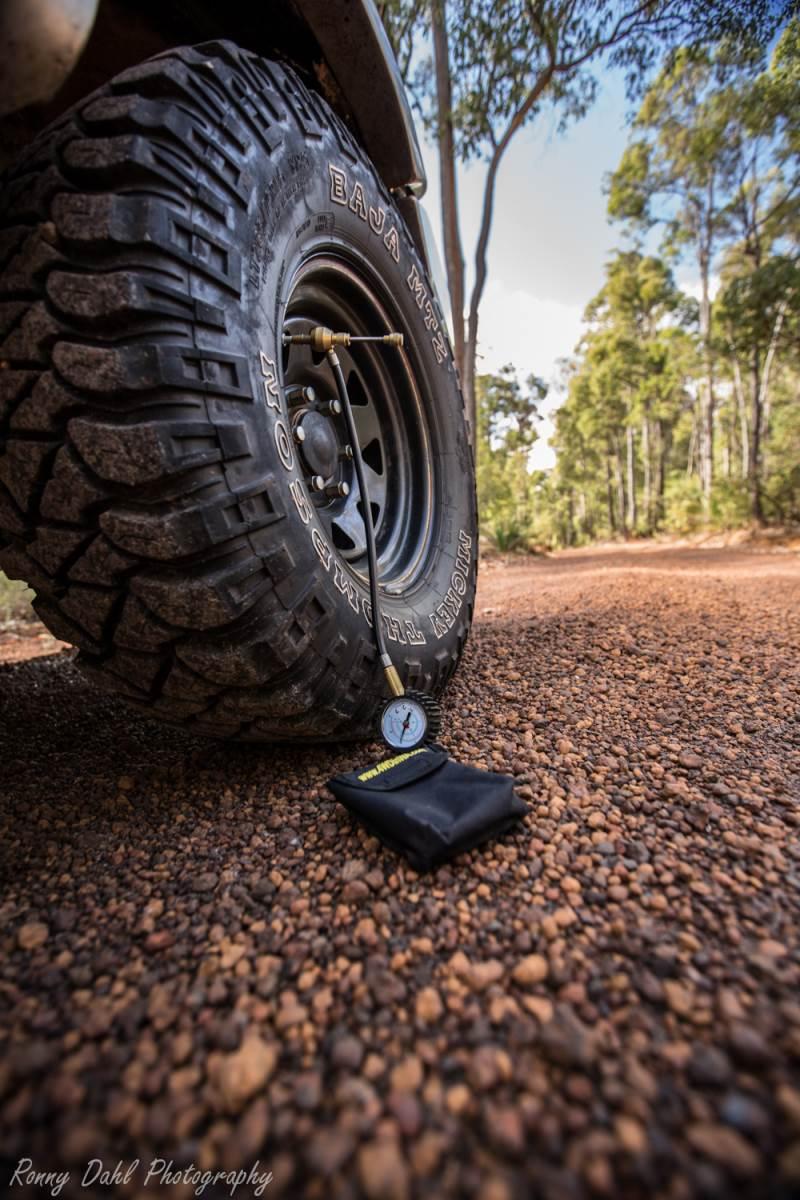 Tyre Pressures.