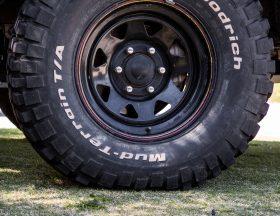 Tire pressure foot print size 15psi