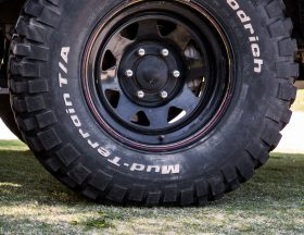 Tire pressure foot print size 25psi