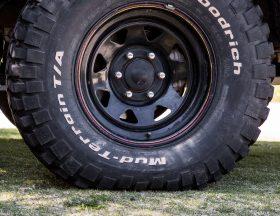 Tire pressure foot print size 5psi