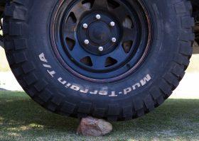 Tyre pressure rock 25psi