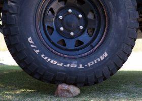 Tyre pressure rock 30psi