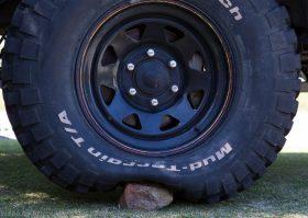 Tyre pressure rock 5psi