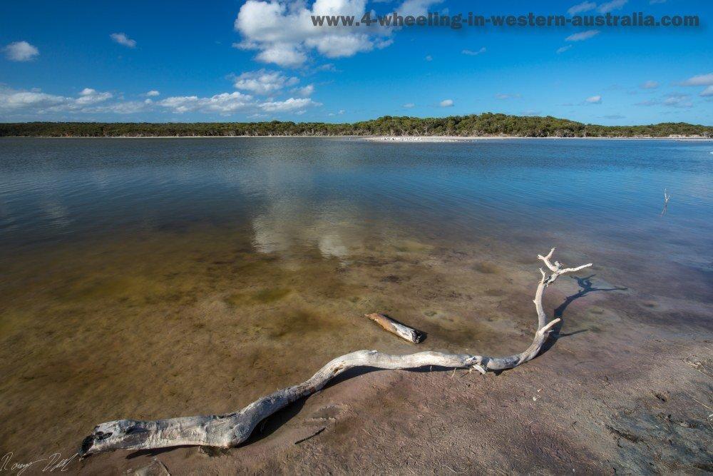 Wellstead Estuary, Western Australia.