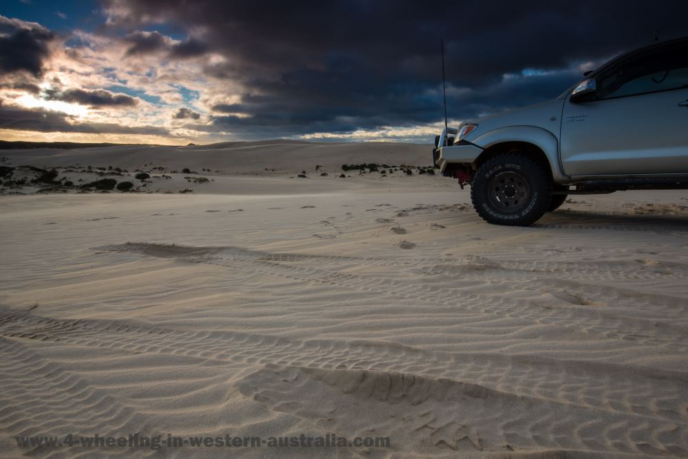 Yeagarup Sand Dune Sunset (with 4x4)