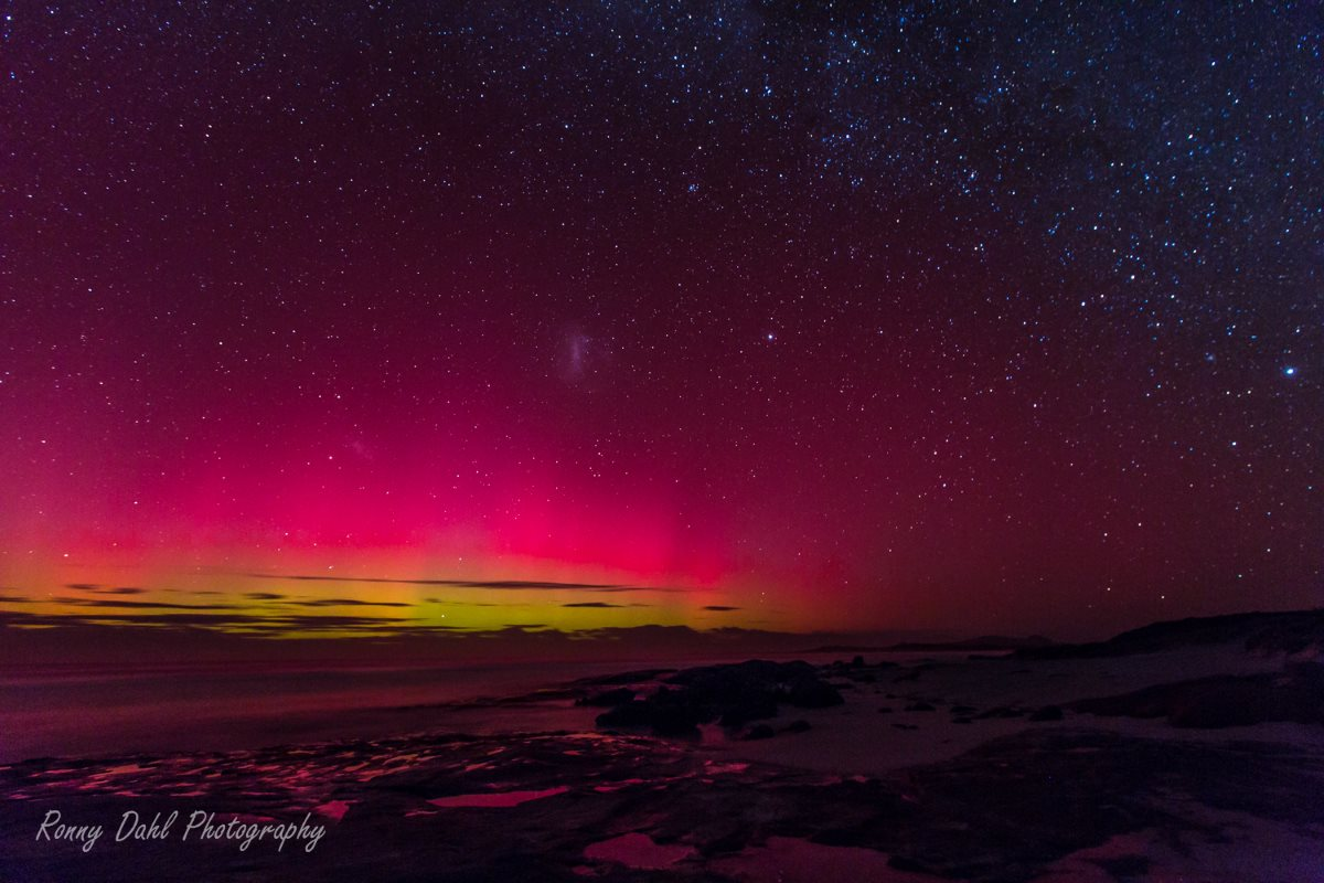The southern Auroras.