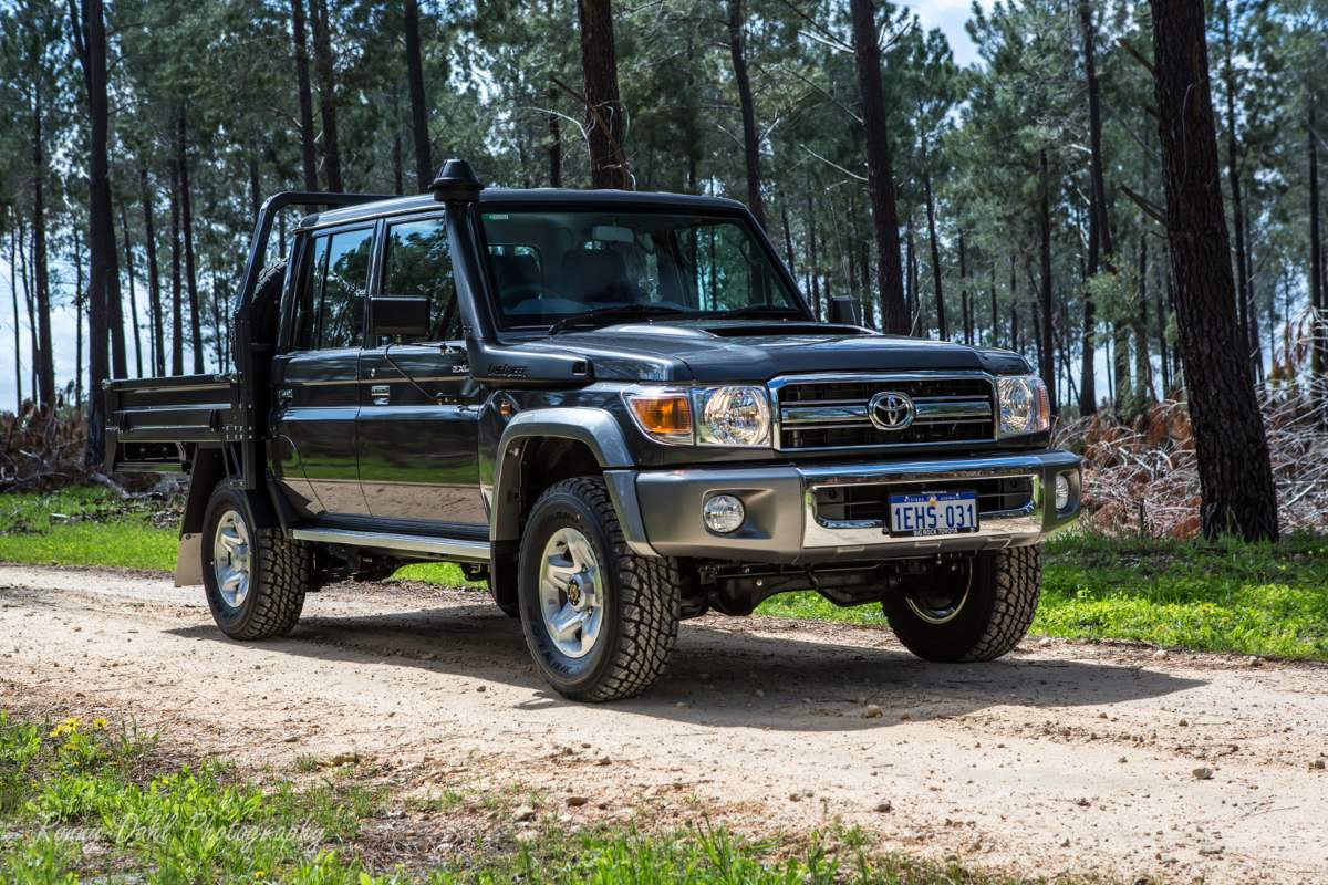Toyota Series 79 Land Cruiser.