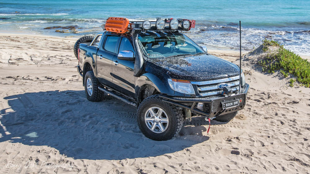 Modified Ford Ranger XLT.