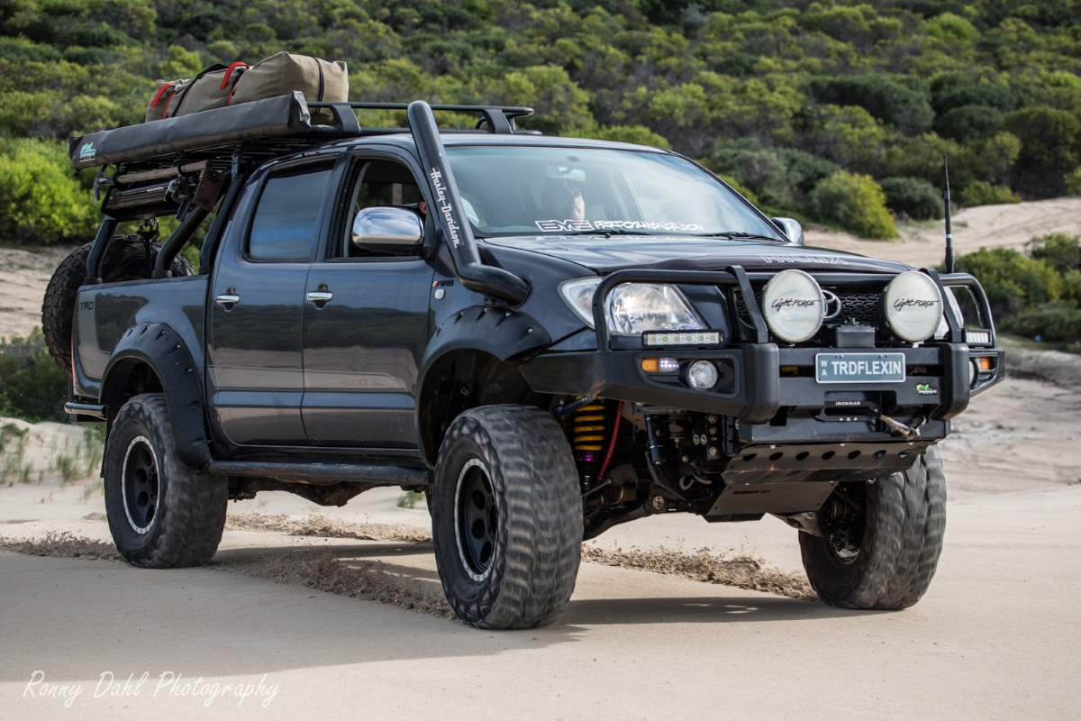 Toyota Trd Hilux Modified