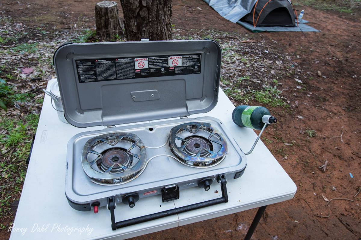 The Coleman FyreKnight Camping Stove.