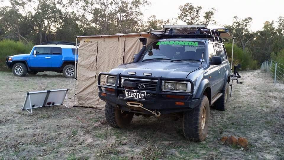 Deb's 80 Series Landcruiser.