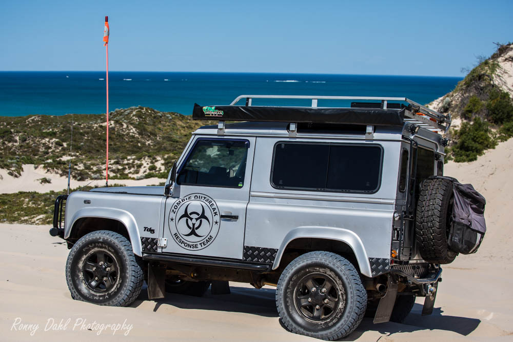 The Land Rover Defender 90