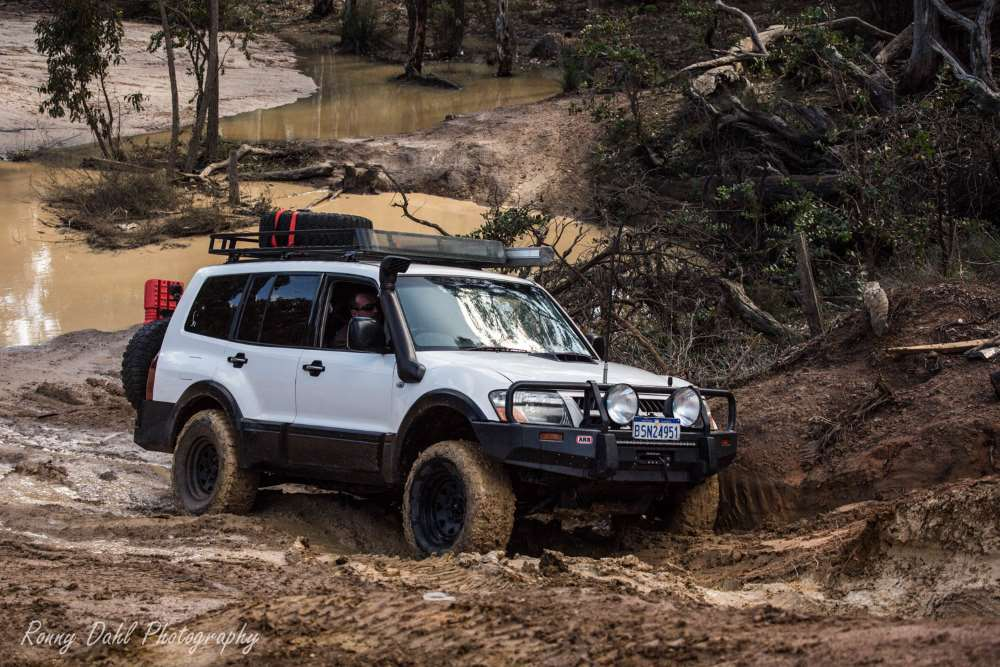 Modified 2005 Mitsubishi Pajero MP.