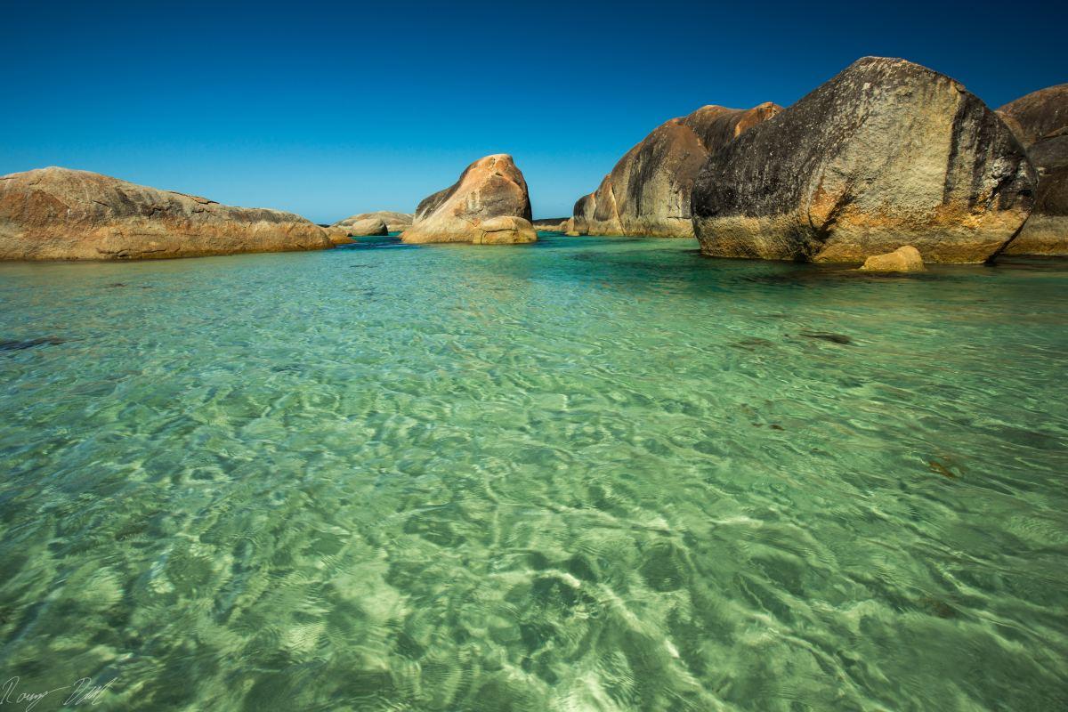 Elephant Cove beach, Western Australia.