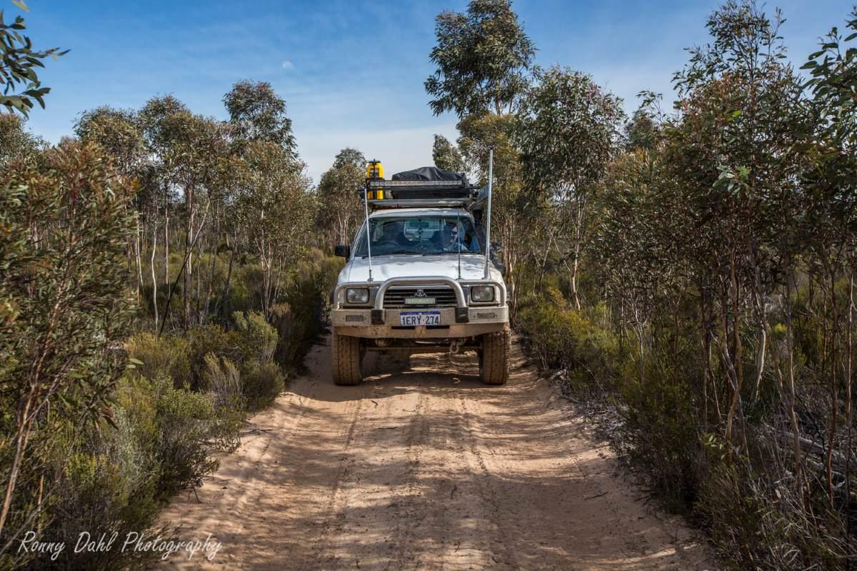 The Holland Track, Western Australia.
