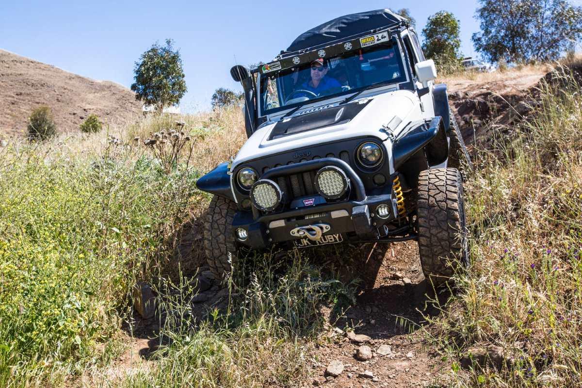 Jeep JK Rubicon, modified.