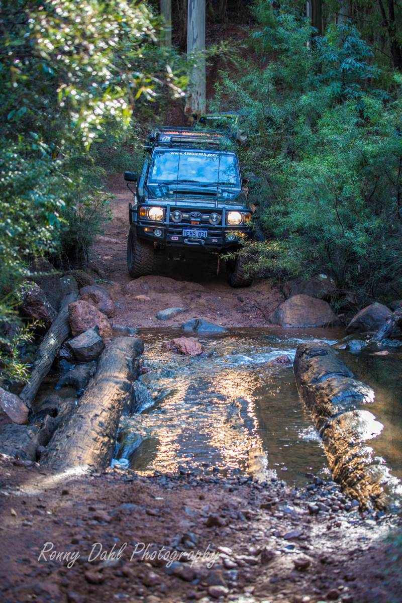 Log River Crossing, Brunswick, Western Australia.