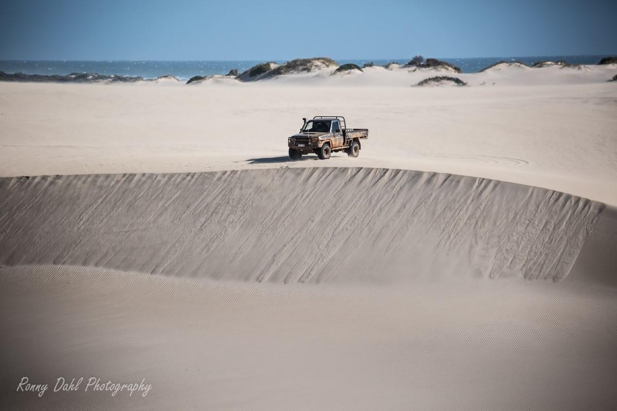 Sandunes at Lucky Bay, Western Australia.