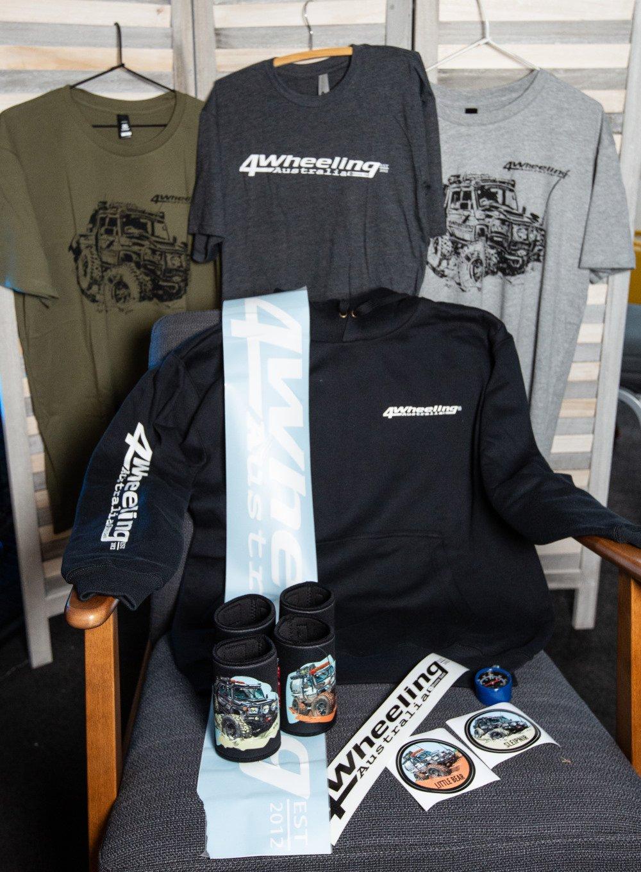 4 Wheeling merchandise.