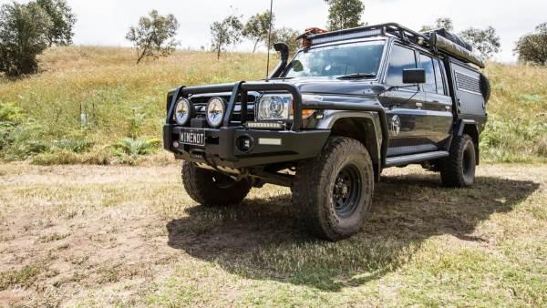 79 Series Toyota Landcruiser Modified
