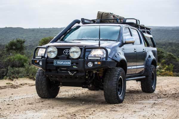 Toyota TRD Hilux, Modified.