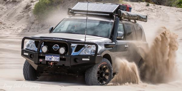 Nissan Patrol Y62 Modified.