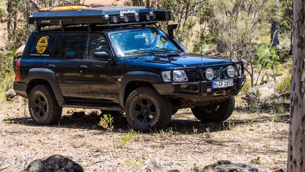 Y61 Nissan Patrol, modified.