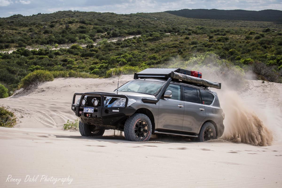 Nissan Patrol Y62 (Datsun) Modified.