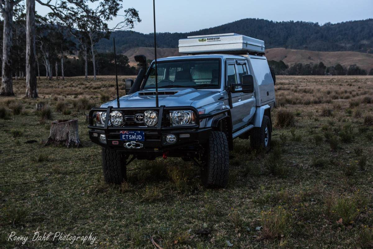 Toyota 79 series Landcruiser dual cab, Modified.