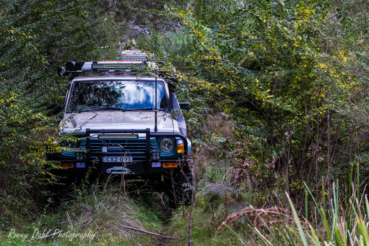 Brunswick V8 Diesel Nissan GQ Patrol Wagon.Modified.