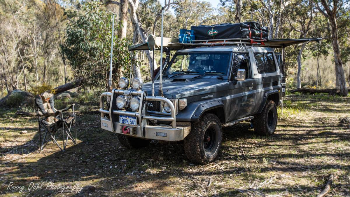 BJ74 Landcruiser, modified.