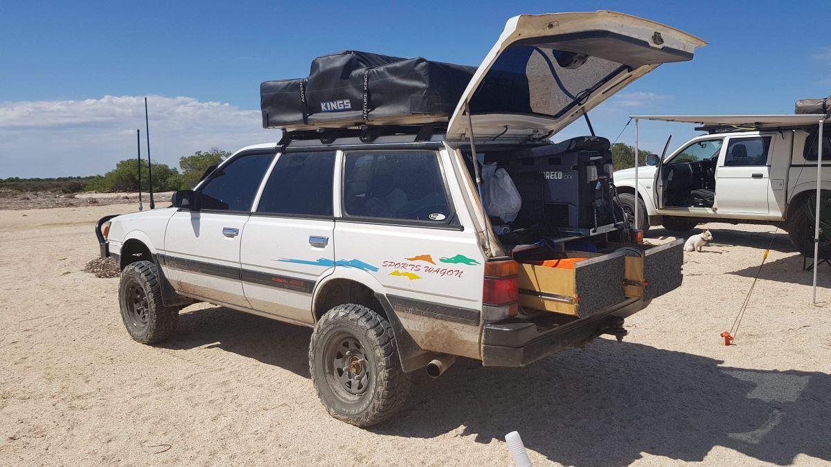 1990 Subaru L series sportswagon, Modified.